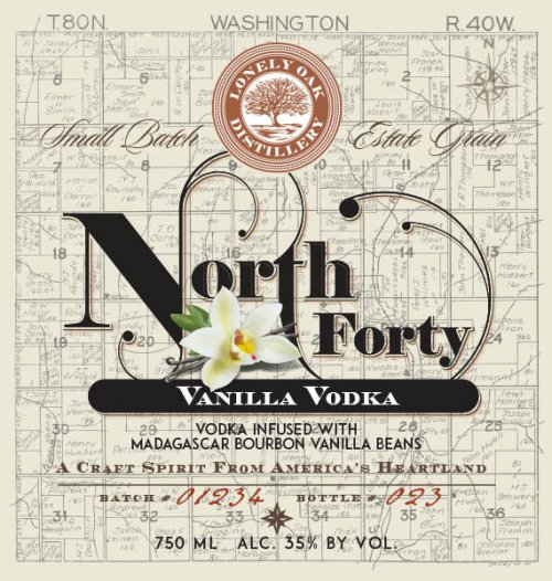 North Forty Vanilla Vodka