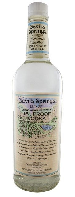 Devil''s Spring Vodka