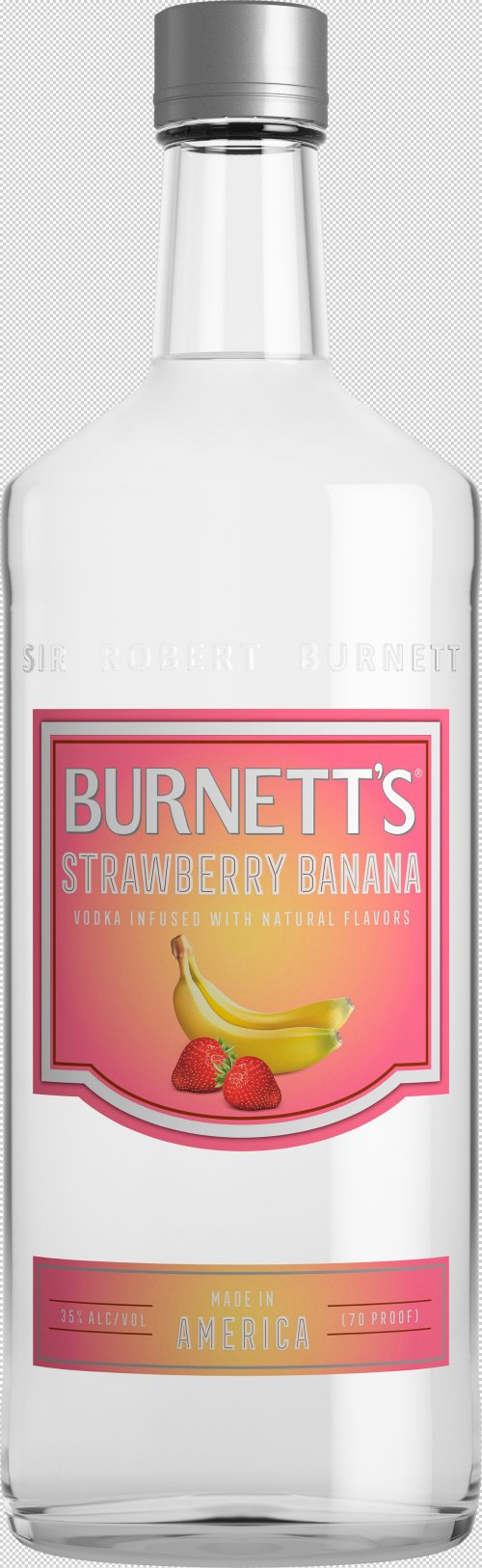 Burnetts Strawberry Banana