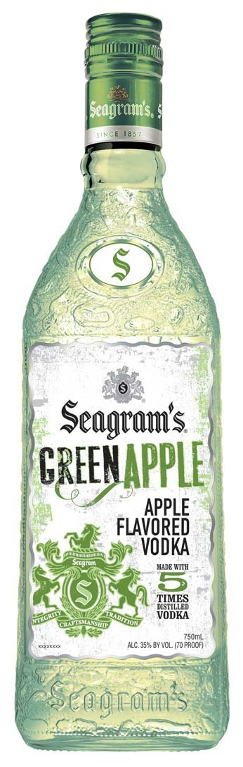Seagrams Apple Vodka