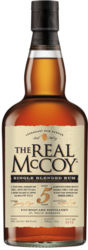 The Real McCoy Single Blended Rum Aged 5 Years
