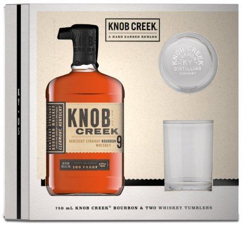 Knob Creek w/Glasses