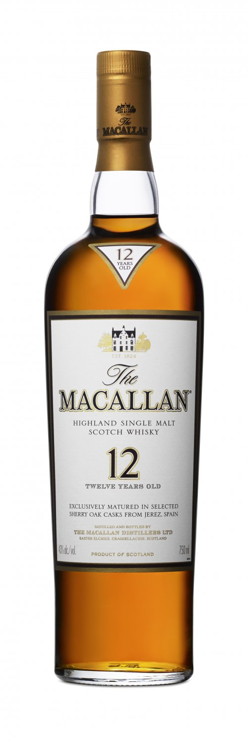 Macallan 12 Yr Single Malt Scotch