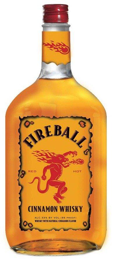 Fireball Cinnamon Whiskey PET