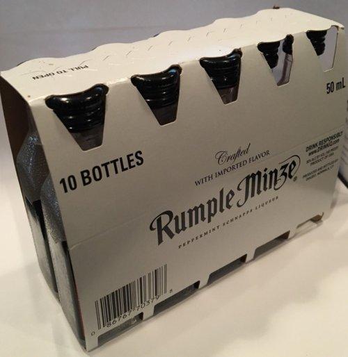 Rumple Minze Peppermint Schnapps Liqueur Mini
