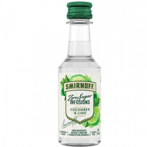 Smirnoff Zero Sugar Infusion Cucumber & Lime Mini