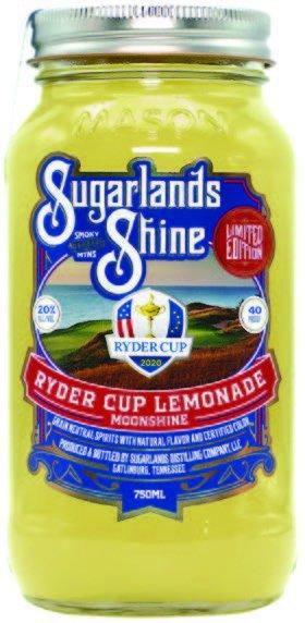 Ryder Cup Lemonade Moonshine