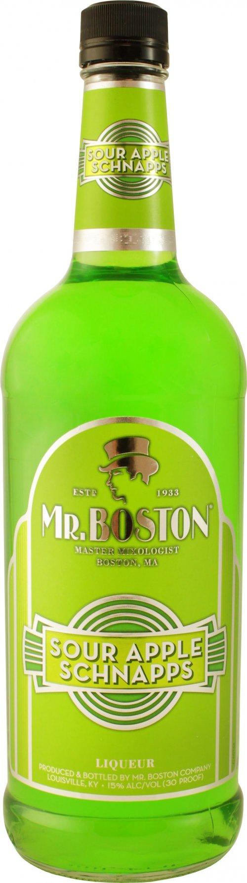 Mr Boston Sour Apple Schnapps