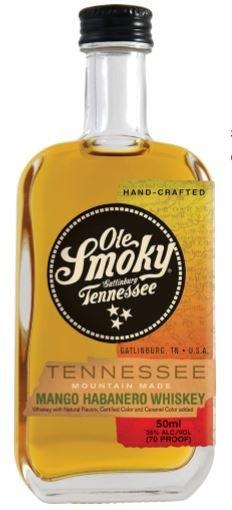 Ole Smoky Mango Habanero Whiskey Mini