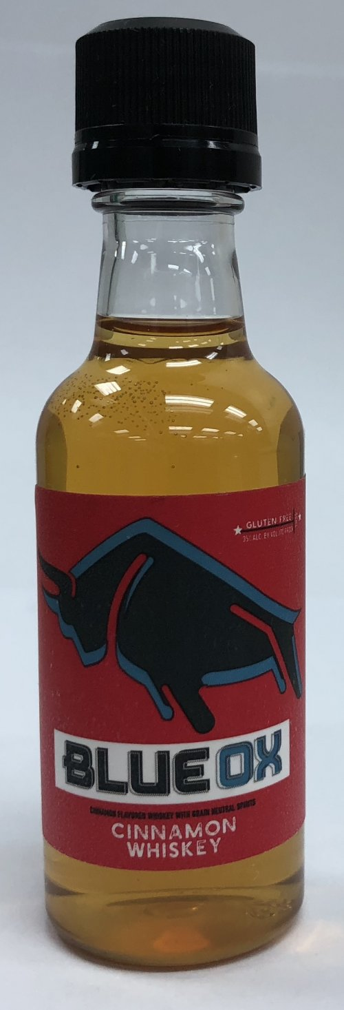 Blue Ox Cinnamon Whiskey Mini