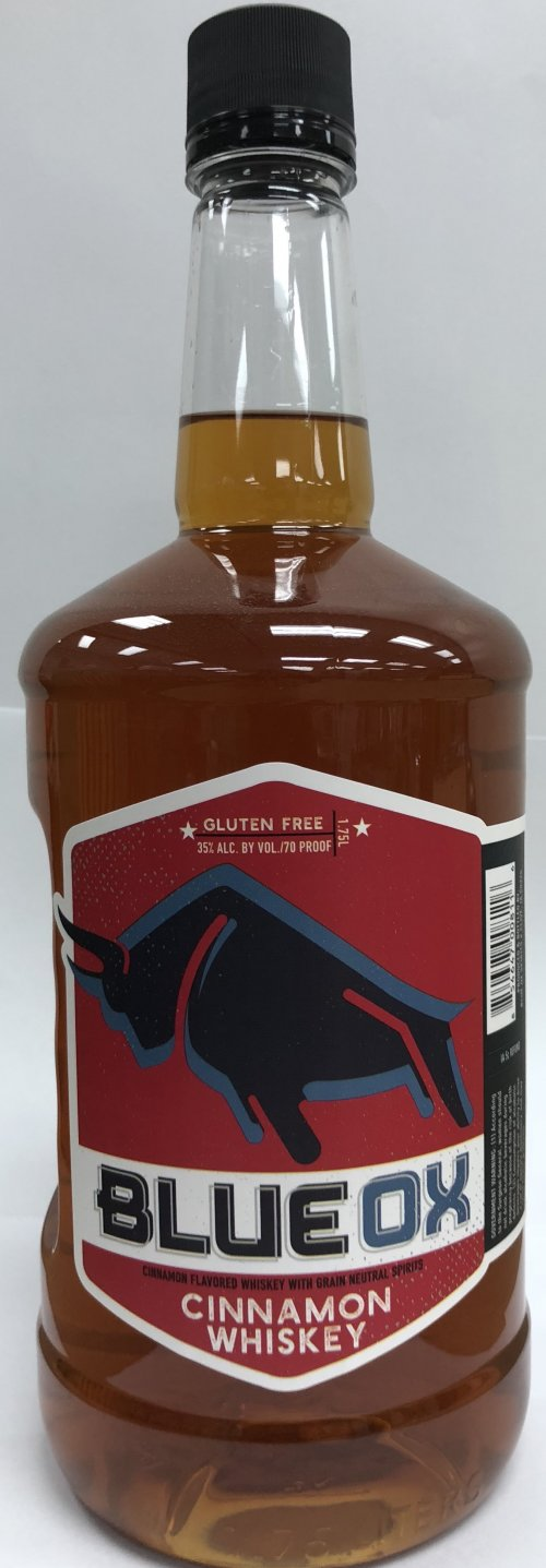 Blue Ox Cinnamon Whiskey