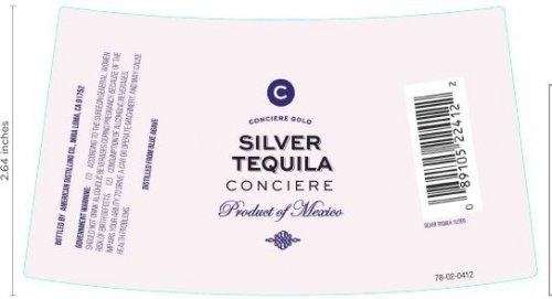 Conciere Silver Tequila