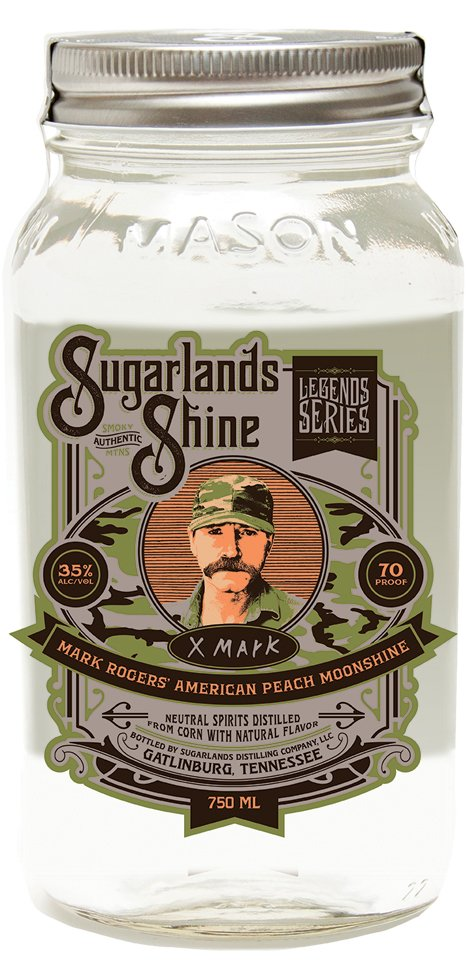 SOOH Sugarlands Shine Mark Rogers American Peach