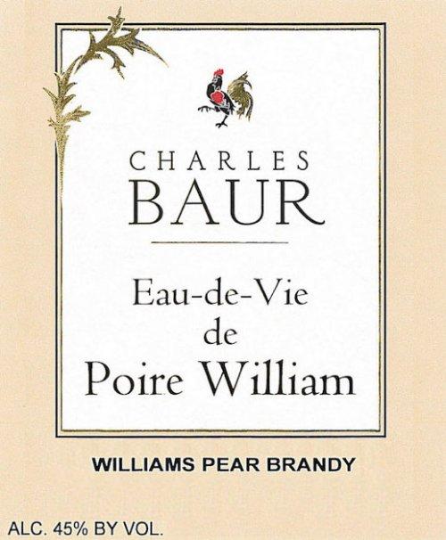 SOOH Charles Baur Poire William