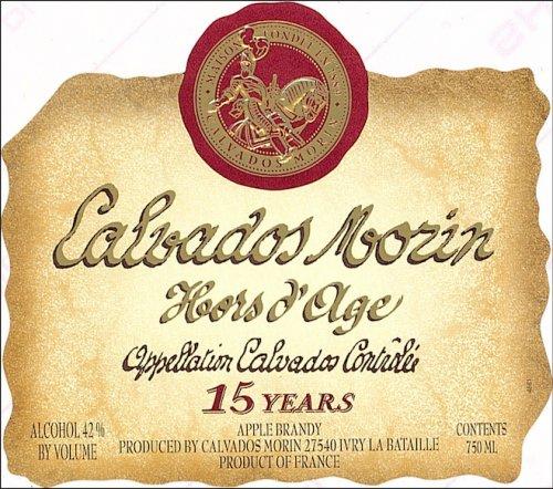 SOOH Morin Calvados Hors d'Age