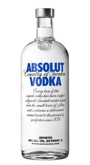 Absolut Swedish Vodka 80prf