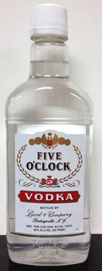 Five O'Clock Vodka PET