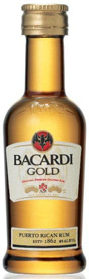Bacardi Gold Mini