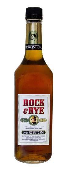 Mr Boston Rock & Rye