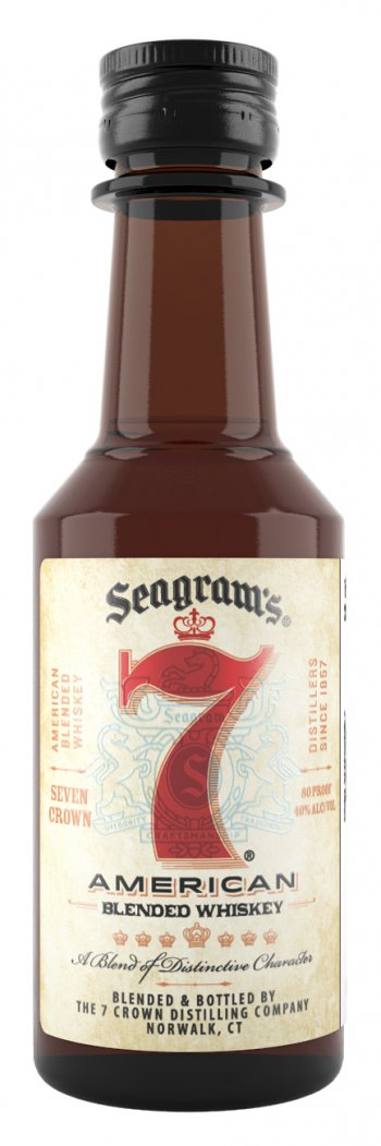 Seagrams 7 Crown Mini