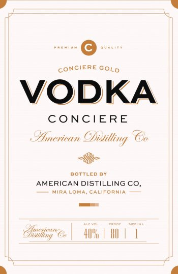 Conciere Vodka
