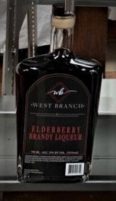 West Branch Elderberry Brandy Liqueur