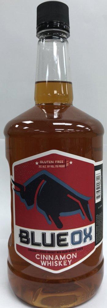 Blue Ox Cinnamon Whiskey