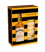Jack Daniels TN Honey w/Glass
