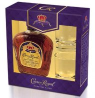 Crown Royal w/2 Glasses