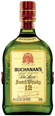 Buchanan's 12 Yr Deluxe Scotch