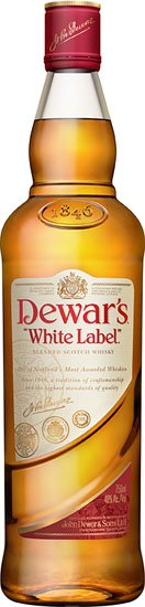 Dewars White Label Scotch