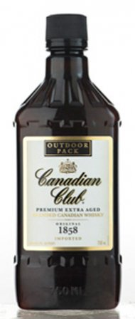 Canadian Club Whisky Pet