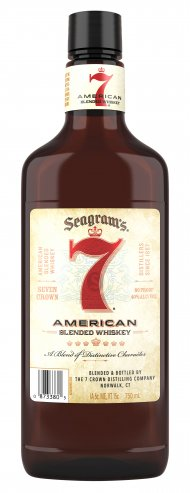 Seagrams 7 Crown PET Flask