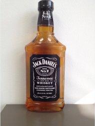 Jack Daniels Old #7 Black Lbl Flat