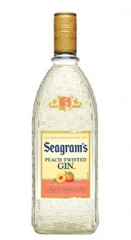 Seagrams Peach Twisted Gin