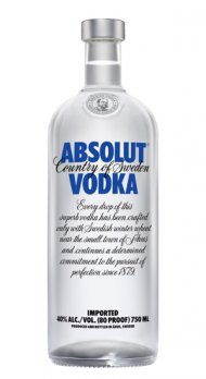 Absolut Swedish Vodka 80 Prf
