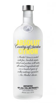 Absolut Citron (lemon Vodka)