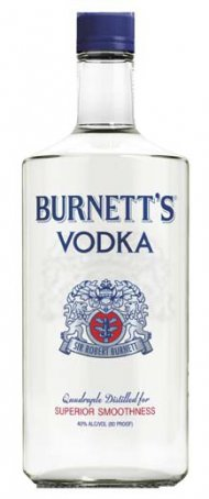 Burnett's Vodka 80 Prf