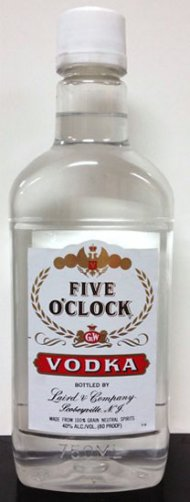 Five O'Clock Vodka PET