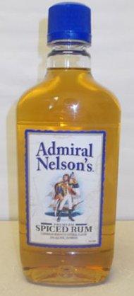 Admiral Nelson Spiced Rum Traveler