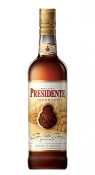 Presidente Grape Brandy (pedro Domecq)