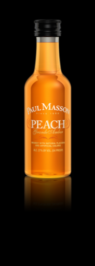 Paul Masson Peach Grande Amber Brandy Mini