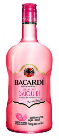 Bacardi Classic Cocktails Strawberry Daiquiri