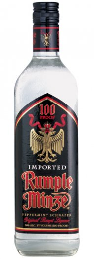 Rumple Minze Peppermint Schnapps Liqueur