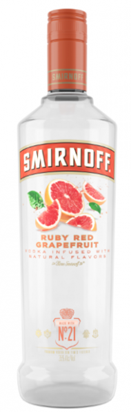 Smirnoff Ruby Red Grapefruit