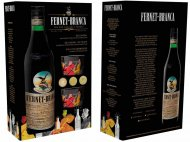 Fernet Branca Liqueur w/2 Bodega Glasses