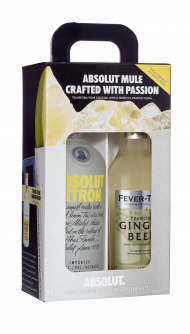 Absolut Citron w/ Fever Tree Ginger Beer
