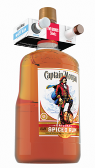Captain Morgan OSR Glass w/50ml Apple Smash & 50ml White