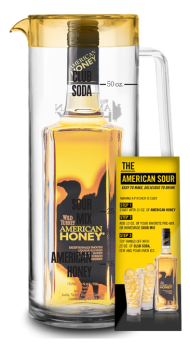 Wild Turkey American Honey w/Pitcher