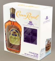 Crown Royal Deluxe w/Ice Mold